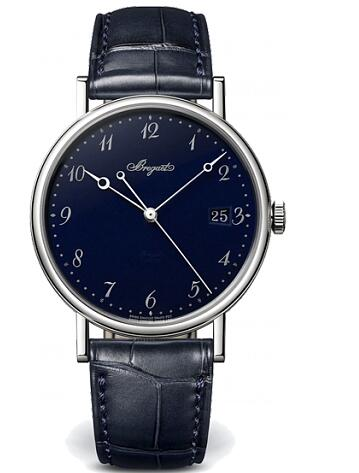 Breguet Classique Grand Feu Blue Enamel 5177BB/2Y/9V6 Replica Watch