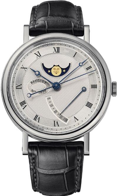 Breguet Classique Moonphase Power Reserve 7787 7787BB/12/9V6 Replica Watch