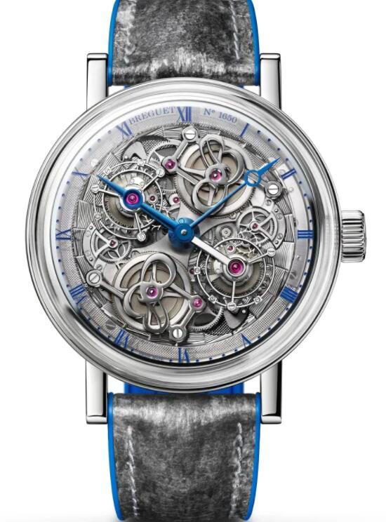 Breguet Classique Double Tourbillon 5345 Quai de Horloge 5345PT/1S/7XU Replica Watch