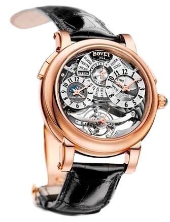 Bovet Dimier Recital 8 DTR8-RG-000-W3-01 Replica watch