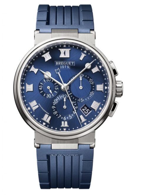 Breguet Marine Chronograph 5527 Titanium 5527TI/Y1/5WV Replica Watch