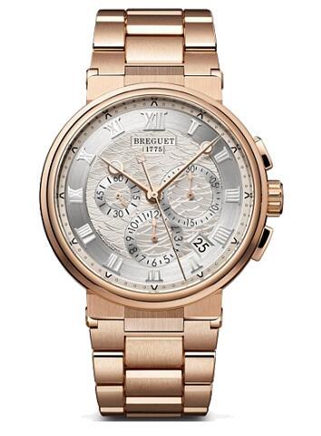 Breguet Marine Chronographe 5527 5527br/12/rw0 Replica Watch