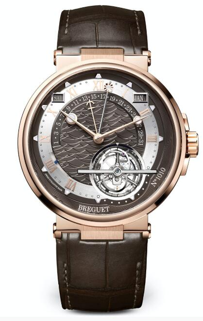 Breguet Marine Tourbillon Equation Marchante 5887 5887BR/G2/9WV Replica Watch