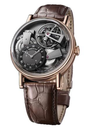 Breguet Tradition 7047 Fusee Tourbillon 7047BR/R9/9ZU Replica Watch
