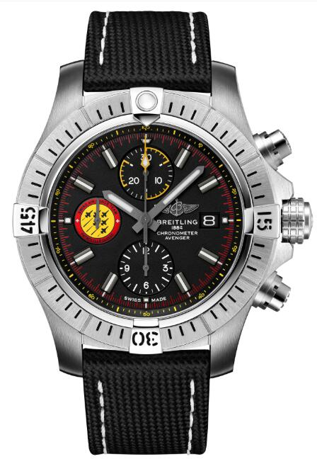 Breitling Avenger Chronograph 45 Swiss Air Force Team A133171A1B1X1 Replica Watch