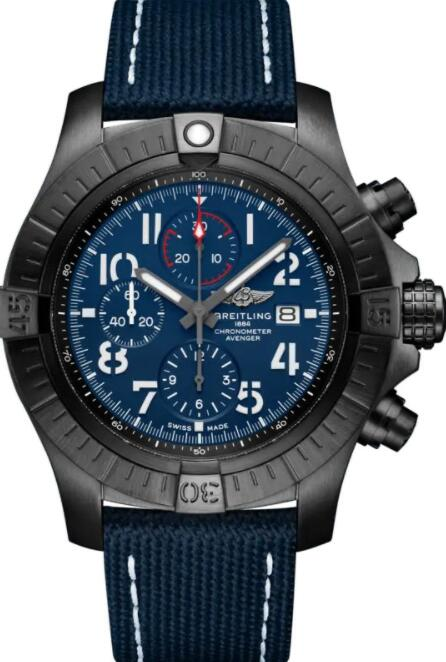 Best Breitling Super Avenger Chronograph 48 V13375101C1X2 Replica Watch