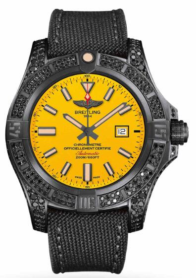 Breitling AVENGER BLACKBIRD 44 V17311AU/I526 109W Replica Watch