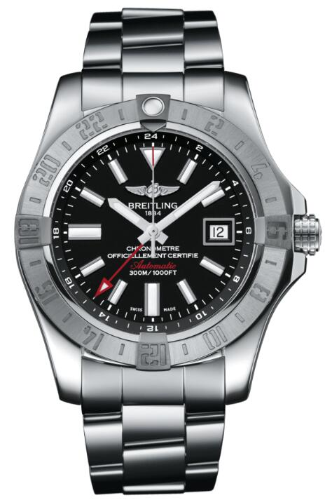 Breitling AVENGER II GMT A3239011-BC35-170A Replica Watch