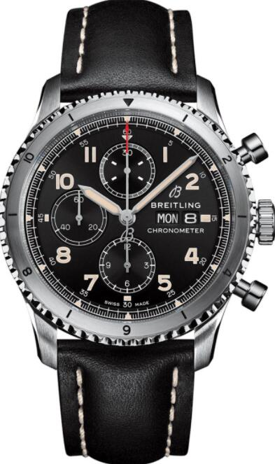 Best Breitling Aviator 8 Chronograph 43 A13316101B1X2 Replica Watch