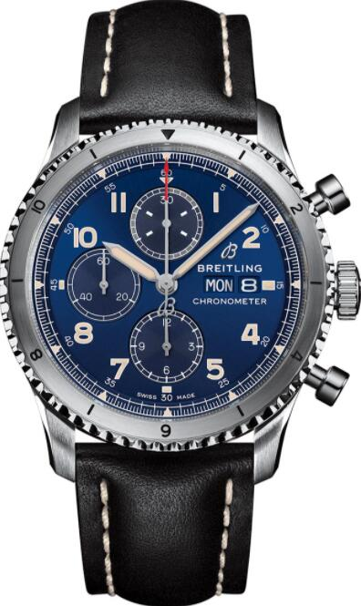 Best Breitling Aviator 8 Chronograph 43 A13316101C1X3 Replica Watch