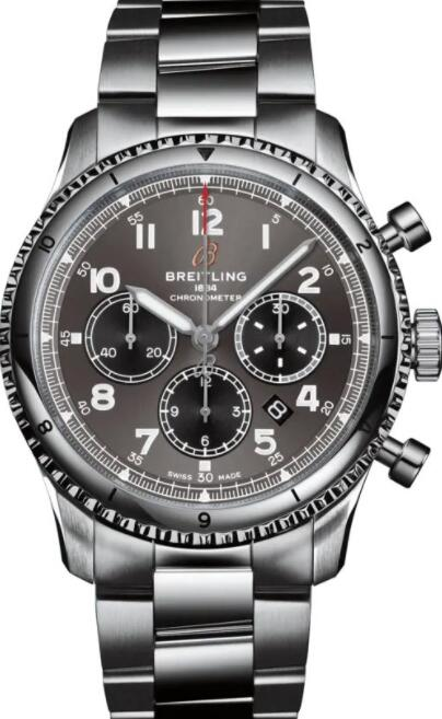 Best Breitling Aviator 8 B01 Chronograph 43 AB0119131B1A1 Replica Watch