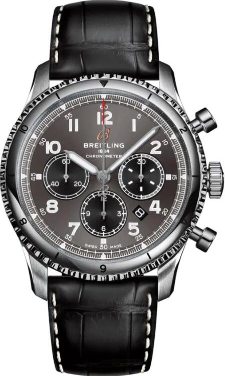 Best Breitling Aviator 8 B01 Chronograph 43 AB0119131B1P1 Replica Watch
