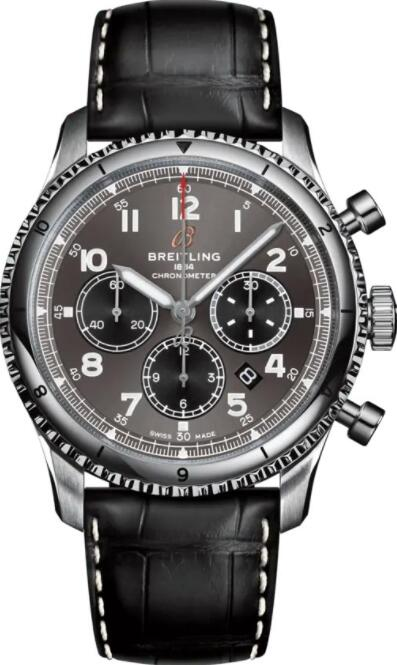 Best Breitling Aviator 8 B01 Chronograph 43 AB0119131B1P2 Replica Watch