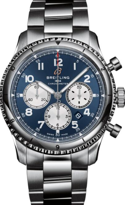 Best Breitling Aviator 8 B01 Chronograph 43 AB0119131C1A1 Replica Watch