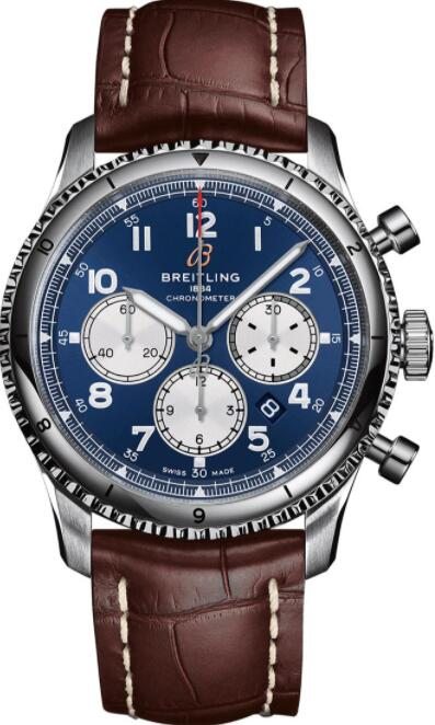Best Breitling Aviator 8 B01 Chronograph 43 AB0119131C1P2 Replica Watch