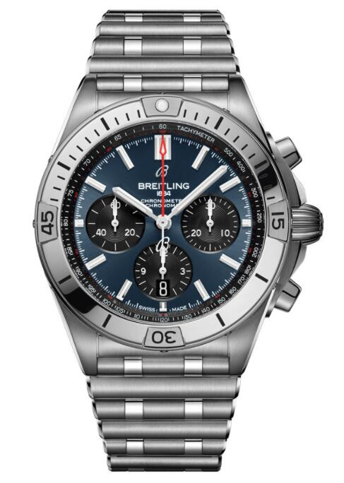 Best Breitling Chronomat B01 42 AB0134101C1A1 Replica Watch