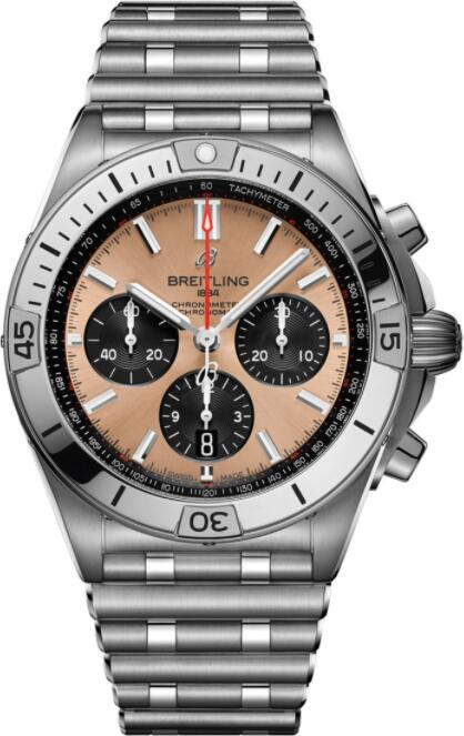 Best Breitling Chronomat B01 42 AB0134101K1A1 Replica Watch