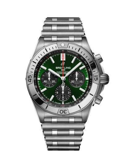 Breitling Chronomat B01 42 Steel AB01343A1L1A1 Watch Replica