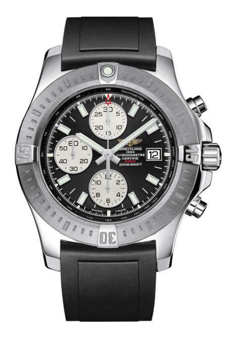 Breitling Colt Chronograph Automatic Steel Volcano Black A1338811/BD83/131S/A20S.1 Replica Watch