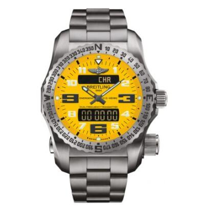 Replica Watch Breitling Emergency II Titanium E76325A4.I520.159E