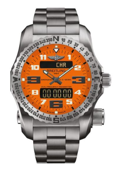 Replica Watch Breitling Emergency II E76325A5.O508.159E