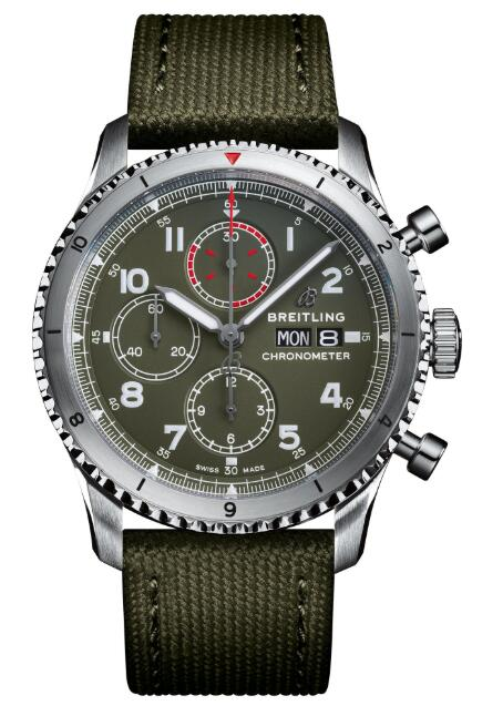 Replica Watch Breitling A13316 Navitimer Aviator 8 Chronograph 43 Curtiss Warhawk