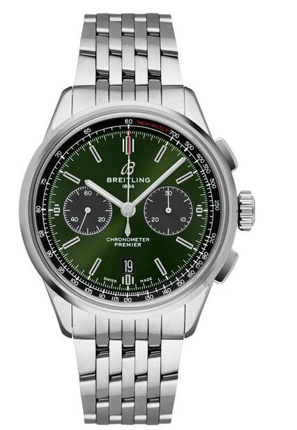 Best Breitling Premier B01 Chronograph 42 Bentley AB0118A11L1A1 Replica Watch