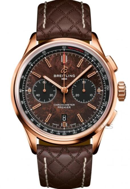 Best Breitling Premier B01 Chronograph 42 Bentley Centenary RB01181A1Q1X1 Replica Watch