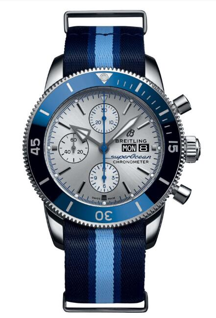 Breitling Superocean Heritage II Chronograph 44 Ocean Conservancy A133131A1G1W1 Replica Watch