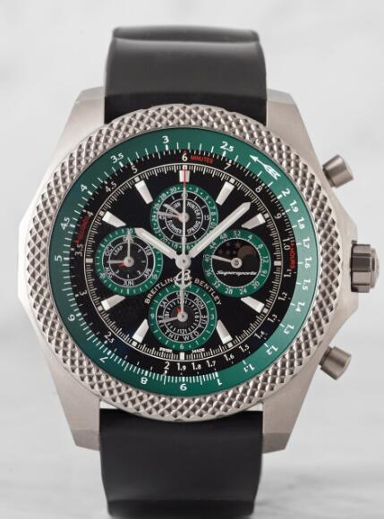 Breitling for Bentley Supersports Light Body QP Green Replica Watch