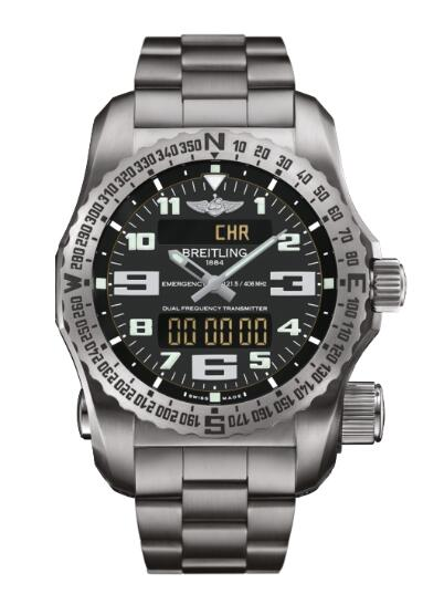 Replica Watch Breitling Emergency II Titanium E7632522.BC02.159E