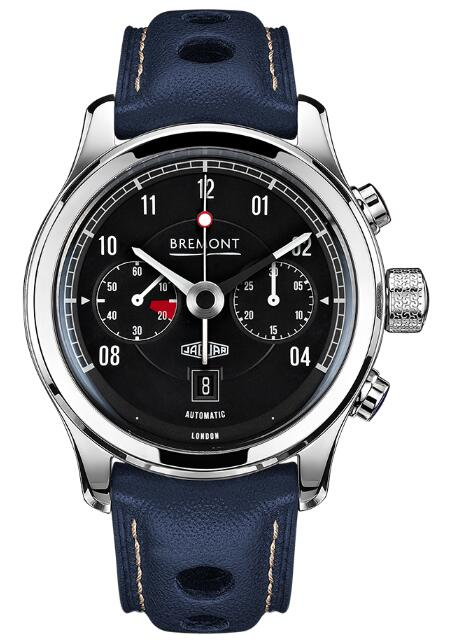 Bremont JAGUAR MKII BLACK BJ-II/BK/R Replica Watch