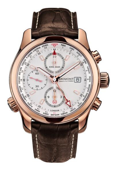 Bremont KINGSMAN ROSE GOLD BKM-RG Replica Watch