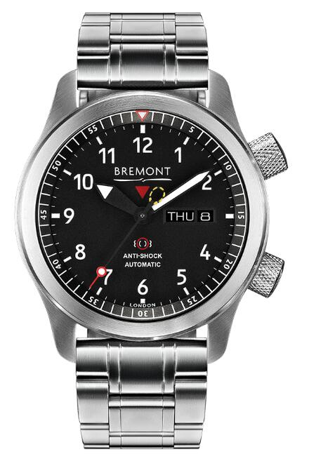 Bremont Martin Baker MBII BLACK BRACELET MBII-BK/OR/BR Replica Watch