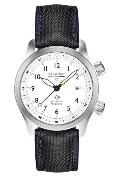 Bremont MBII-WH/BLUE Replica Watch