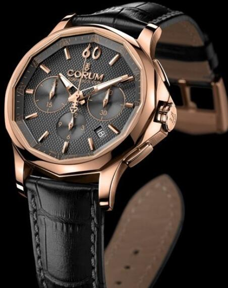 Corum Admirals Cup Legend 42 Chrono Replica watch 984.101.55/0001 AK12