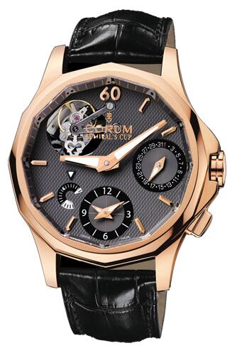 Corum Admirals Cup Seafender Tourbillon GMT Replica watch 397.101.55/0001 AK10