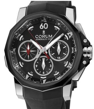 Corum Admirals Cup Challenger Chrono Split-Seconds 44 Replica watch 986.581.98/F371 AN52
