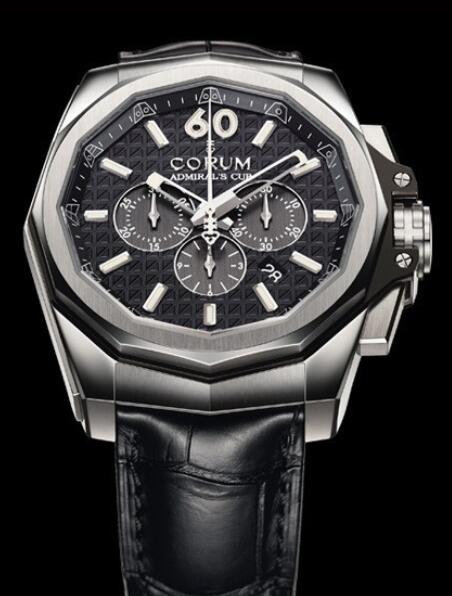 Corum Admirals Cup AC-One 45 Chronograph Replica watch A132/01680 - 132.201.04/0F01 AN10