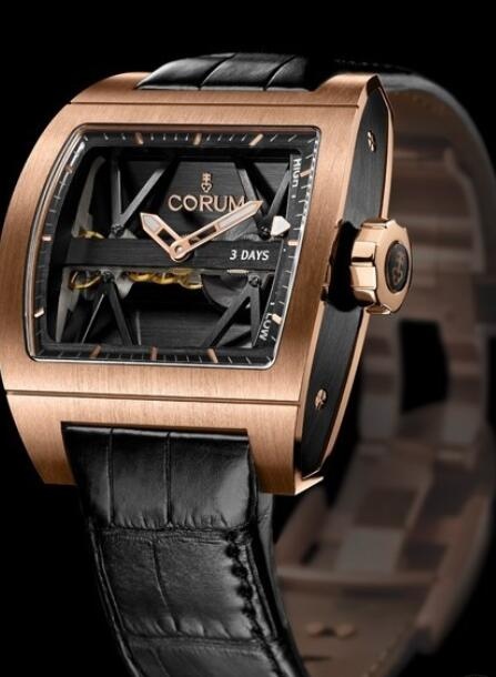 Corum Ti-Bridge Power Reserve Replica watch 107.101.05/0F81 0000