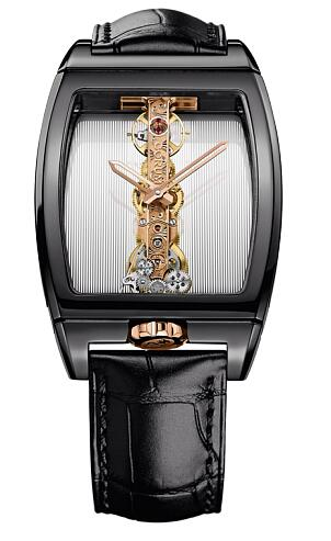 Corum Golden Bridge Black Ceramic Replica watch B113/02213-113.261.15/0001 0000R