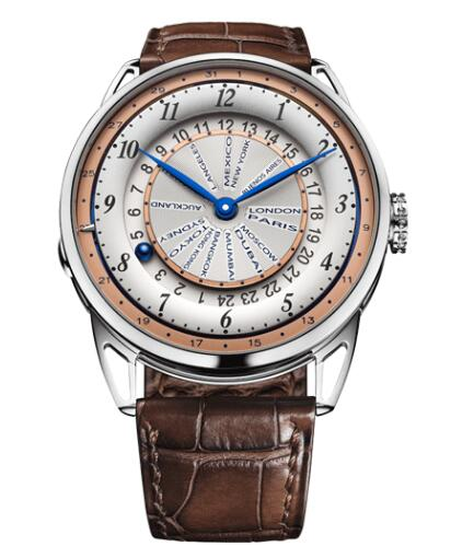 De Bethune DB25 WORLD TRAVELLER DB25WTWS1 Replica Watch