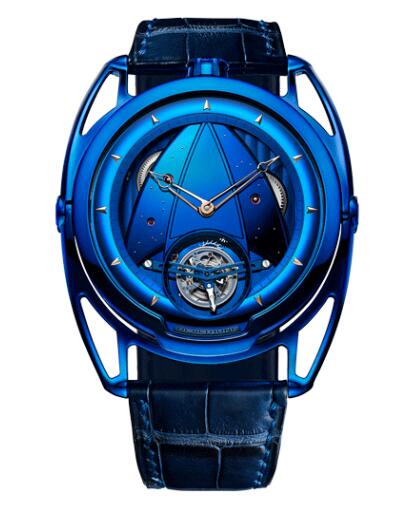 De Bethune DB28 KIND OF BLUE TOURBILLON DB28TBRBN/S Replica Watch