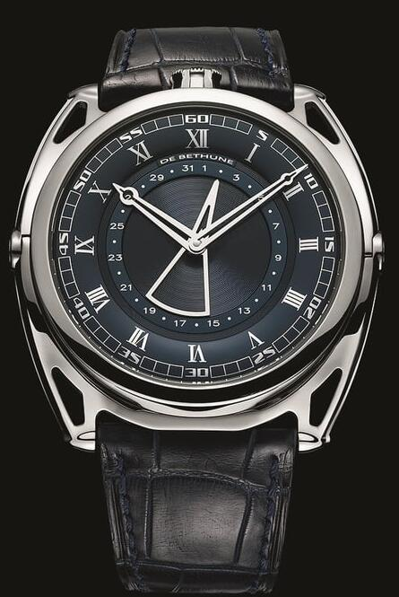 De Bethune DB27 TITAN HAWK DB27 Blue Replica Watch