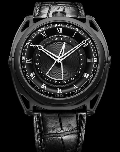 De Bethune DB27 Titan Hawk all Black DB27ZS8 Replica Watch