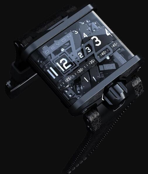 Devon Tread 1 DVNWRKS1BLCK Replica Watch