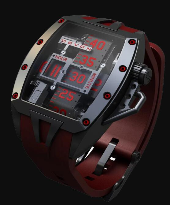 Devon TREAD 2 MURDER Replica Watch