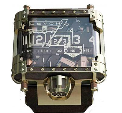 Devon Tread 1 Steampunk Replica Watch
