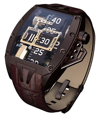 Devon Tread 2 Godiva Brown Replica Watch