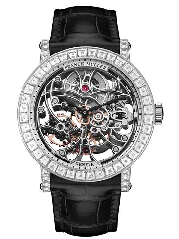 FRANCK MULLER 7 Days Power Reserve Skeleton 7042 B S6 SQT BAG Replica Watch